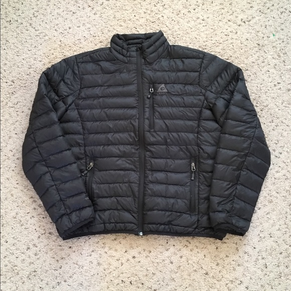 35530e726 Gerry Goose Filled Black 650 Fill Power Jacket L